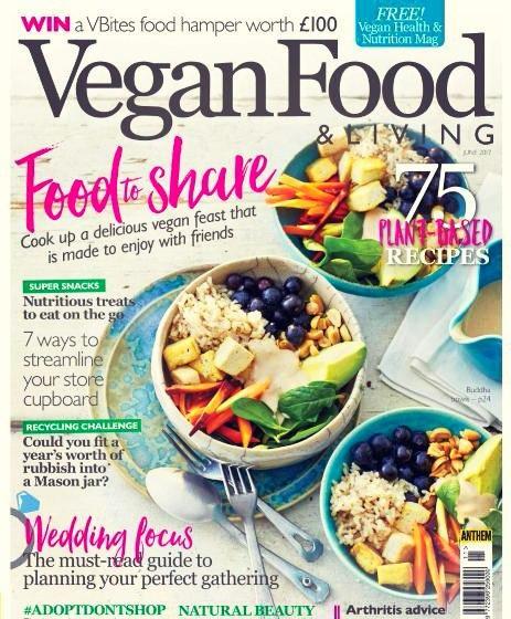 Vegan Food Living June 2017