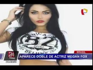Brasil  conozca a la doble de Megan Fox, Claudia Alende