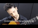 The Four Seasons Summer 1st mvt solo classical guitar arrangement by Emre Sabuncuoglu