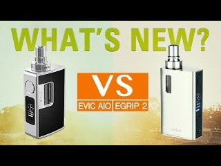 eVic AIO vs eGrip II, 8 differences