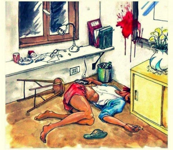 Тесты по криминалистике в картинках