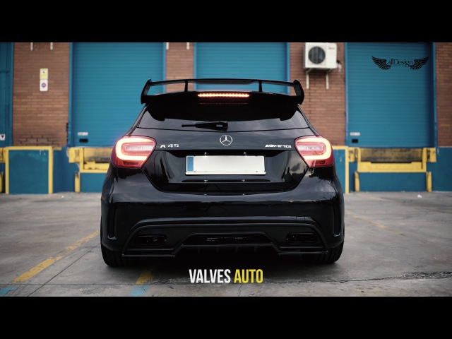 Mercedes A45 AMG (W176) Armytrix Turbo-Back Valvetronic Exhaust by AllDesign in Spain