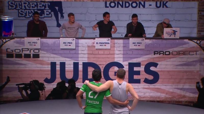 RBSS 2016 McPro Rus vs El Pantera mex 3 place battle