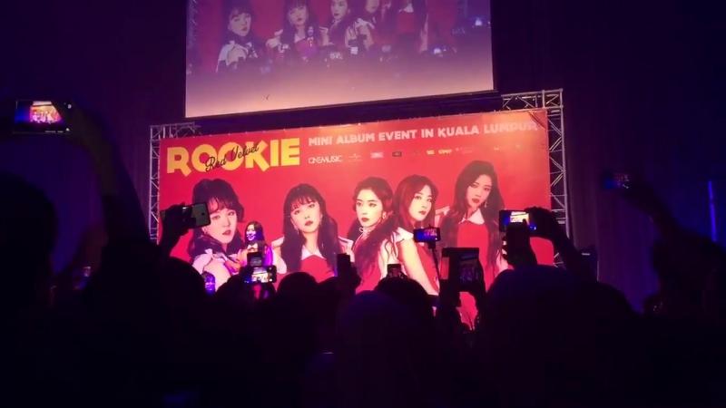 FANCAM 170423 Red Velvet Ice Ceame Cake @ Rookie Mini Album Event