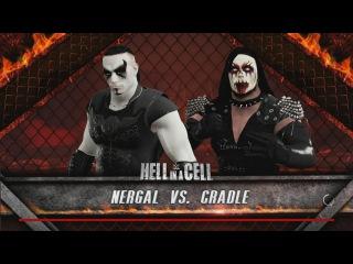 WWE ! Adam Nergal Darski (Behemoth) vs Dani Filth (Cradle of Filth)