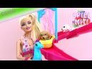 Barbie hundewelpen Wasserpark Spielzeug Demo Rutsche Plantschbecken Hündchen