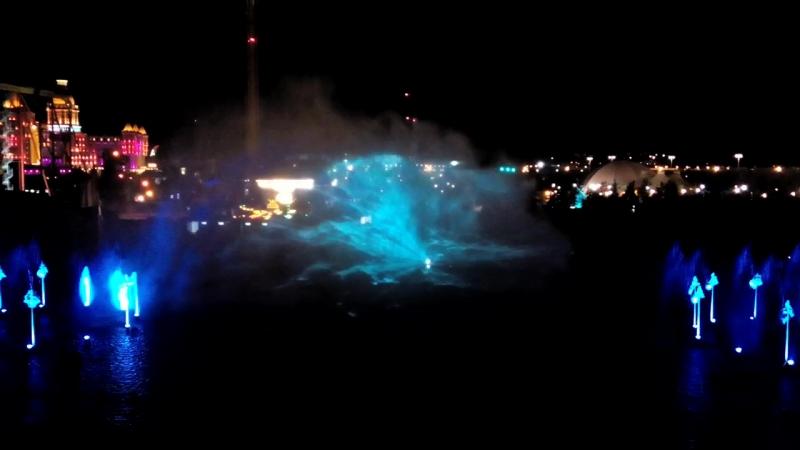 лазерное шоу Феникс Сочи парк