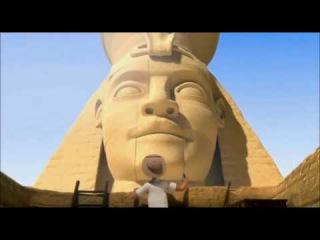 ЕГИПЕТСКАЯ ПИРАМИДА И ПУЛЬТ - забавный мультик короткометражка