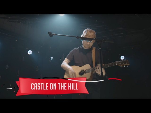 Ed Sheeran Castle on the Hill Live on the Honda Stage at the iHeartRadio Theater NY