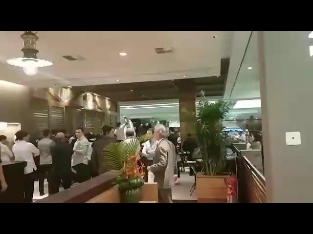 Em Natal-RN Lula recebe vaias e é impedido de almoçar