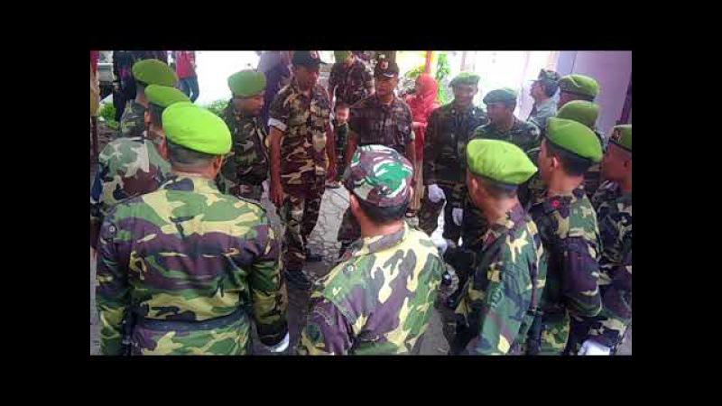 YEL YEL usai acara pernikahan SANGKUR PORA RESIMEN YUDHA PUTRA Koramil Lakarsantri Surabaya