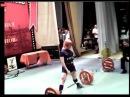 Юлия Зауголова - тяга 232.5 кг (без экипировки)