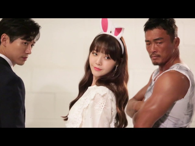 [T-CUT] MINAH(Girl's Day) Photoshoot Behind