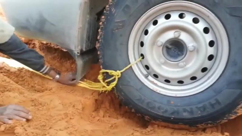Зачем лебедка если есть колесо Самовытаскивание