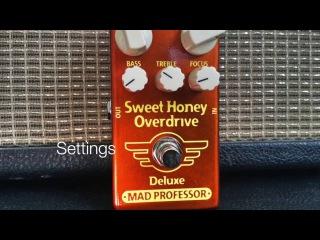Mad Professor Sweet Honey Overdrive Deluxe demo part 2
