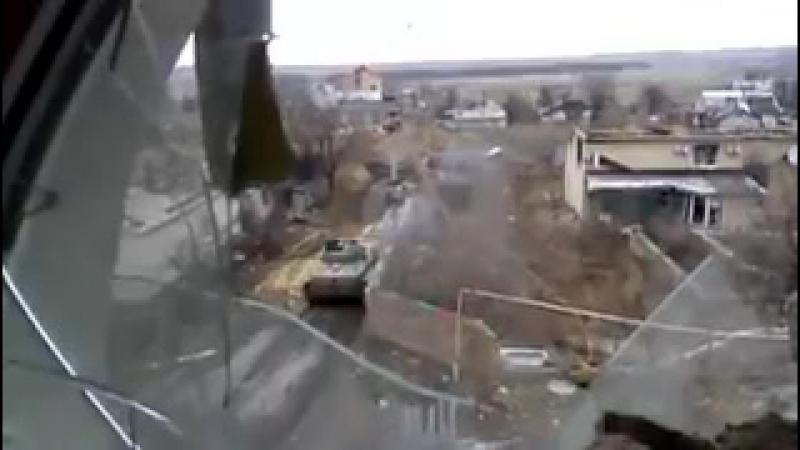 14.04.2017 Хохлопидоры обстреливают Жабуньки.