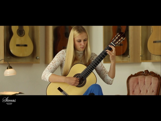 Julia Trintschuk plays Mvt II from Sonata I by C Guastavino on a 2017 Enrico Bottelli