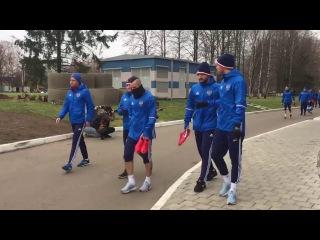 Сборная России собралась в Новогорске