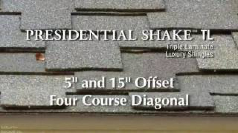 Ламинированная черепица CertainTeed Presidential Shake