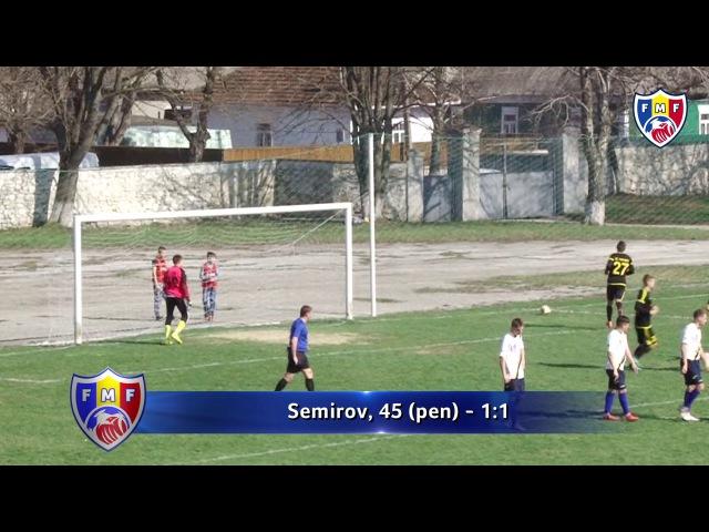 FC Edinet 1 4 Sheriff 2 Divizia A 29 03 2017