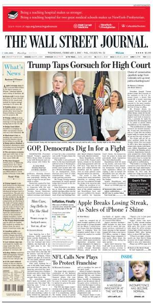 The Wall Street Journal February 1 2017 FreeMags