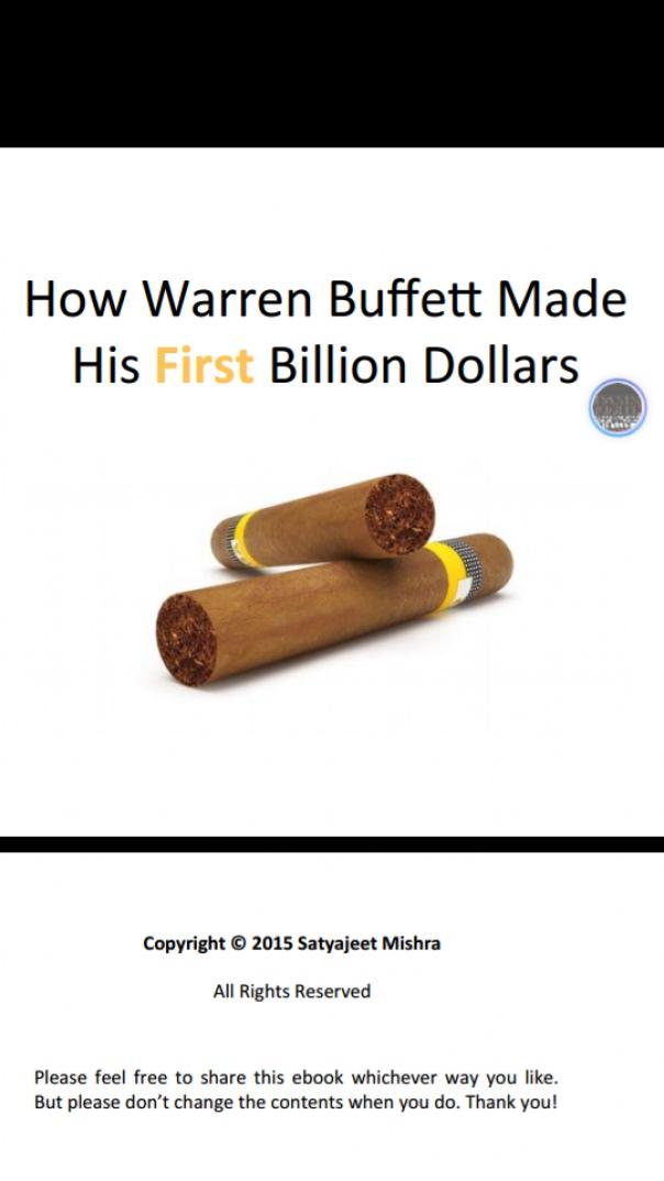 Buffetts First Billion
