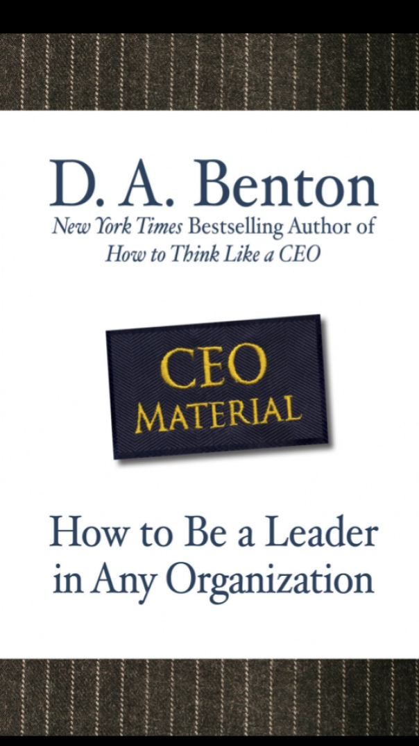 CEO Material How to Be a Leader in Any