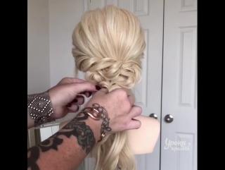 3 восхитительных причёски на скорую руку