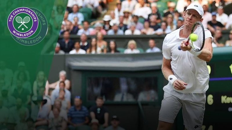 Kevin Anderson turns ambidextrous in astonishing point Wimbledon 2018 » Мир HD Tv - Смотреть онлайн в хорощем качестве