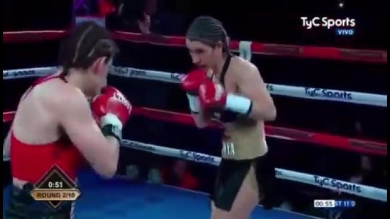 Марсела Элиана Акуна vs Лаур Соледад Гриффа (Marcela Eliana Acuna vs Laura Soledad Griffa)