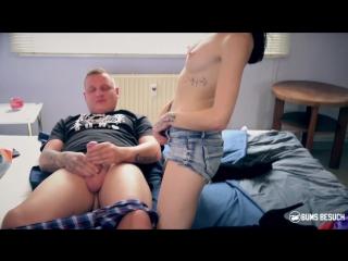[bumsbesuch] hot brunette porn star lullu gun enjoys wild gonzo fuck with amateur guy (08.11.2017) rq