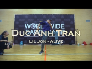 Duc anh tran    lil jon alive    worldwide dance camp 2018    russia