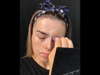 Девушка доказала, что макияж - это сила!