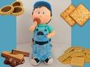 Aula de Biscuit Menino no potinho Parte 02