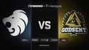 North vs GODSENT map 1 nuke StarSeries i League Season 5 Finals
