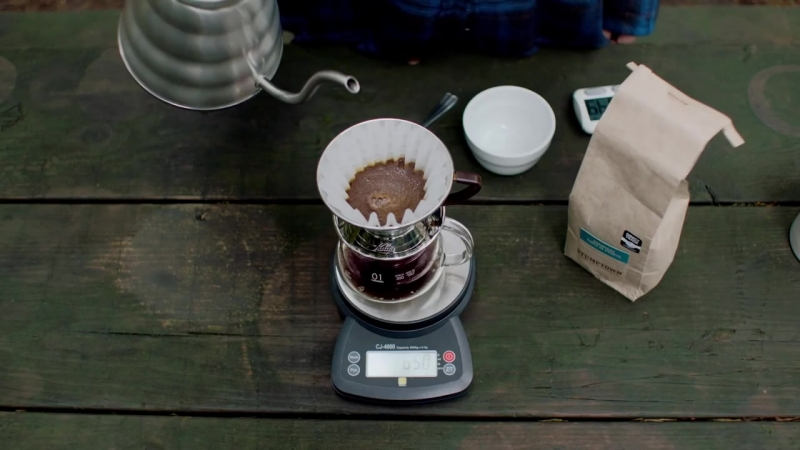 How to Brew Coffee in a Kalita Wave Pour Over