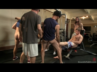 (39328) Gym Slave Takes on a Weight Room Full of Cocks (Connor Maguire, Aarin Asker  Logan Taylor)