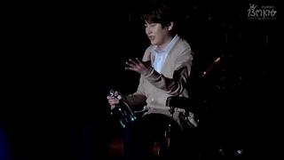 [Fancam] 170319 Kyuhyun Solo Concert in BKK - Werther musical drunk scene [13MKH]