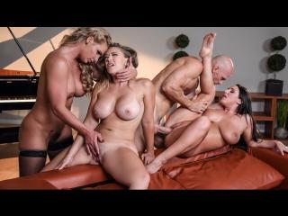 Angela White, Kagney Linn Karter, Phoenix Marie – Dinner For Cheats [Brazzers, Big Ass Big Tits Feet