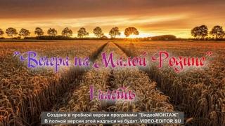 """Антон Яговитин - Благотворительный концерт """"Вечера на Малой Родине"""""""