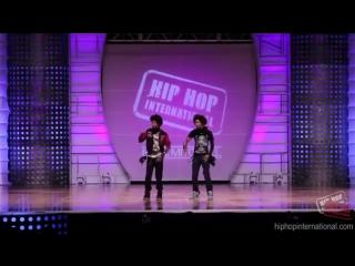 OfficialHHI - LES TWINS (FRANCE) Performance @ HHI's 2k12 World Hip Hop Dance Championship