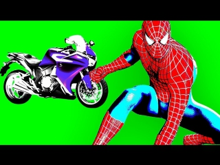 Learn numbers & colors with superheroes spiderman, batman, hulk, superman, flash. cartoon for kids