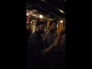 Прибытие каста Чужестранки на встречу с фанатами в Нью-Йорке