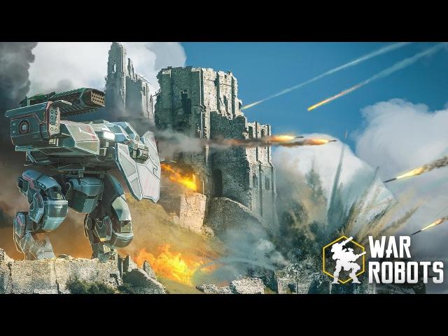 Наконец то годная игра для Android и iOS! Обзор War Robots
