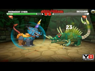 Mutant Fighting Cup 2 (Africa Cup 19) Overwight Cyber VS Dieyesaur (Dog Part 39)