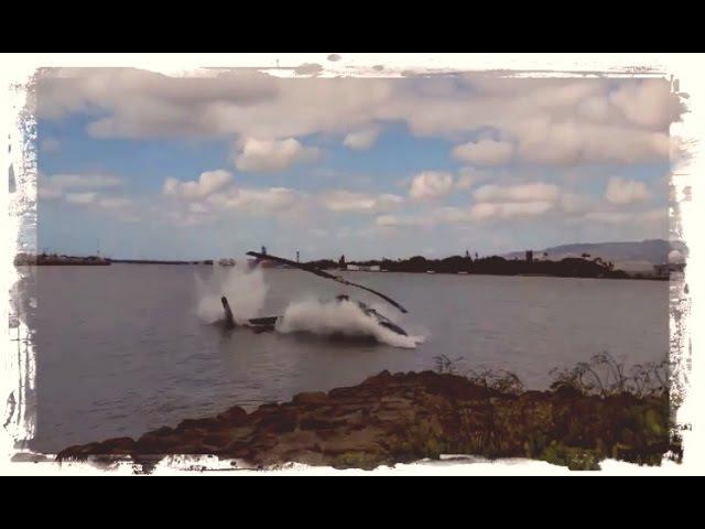 Момент падение вертолетов ►)