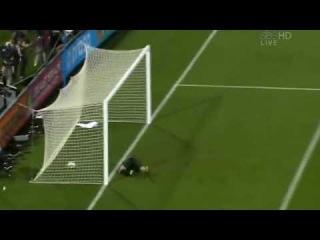 Robert Green's Big Mistake/Clint Dempsey Goal - June 12 2010 - World Cup