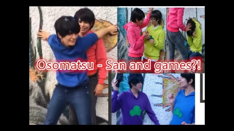 Osomatsu - San Cosplay and games - Kabedon Kissing game PPAP