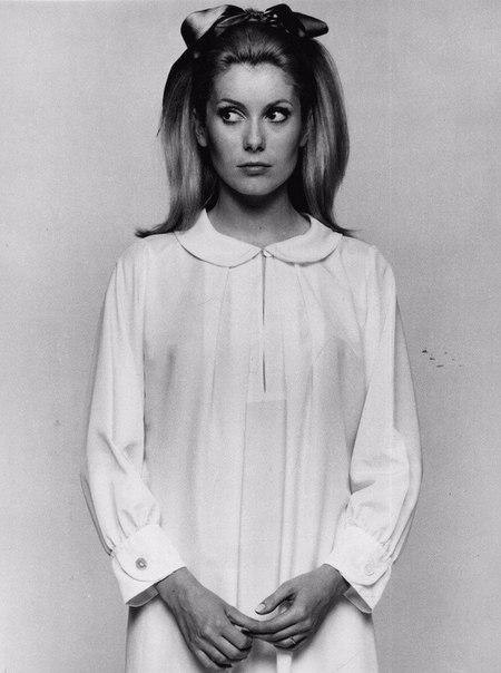 Катрин Денев для Vogue U, 1967