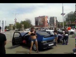 АВТО ЗВУК Ессентуки года Девчёнки танцуют 1 часть